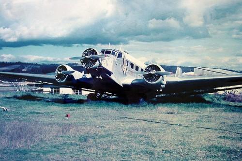1969 - Junkers JU52/3M Estocado no Ecuador
