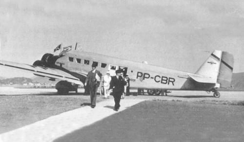 PP-CBR Junkers Ju52/3M da Cruzeiro