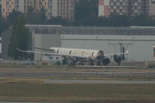 Etihad A340-600 Acidente