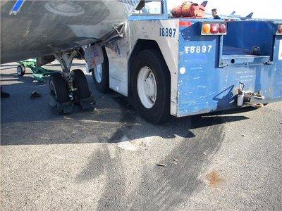 MD 80 damaged