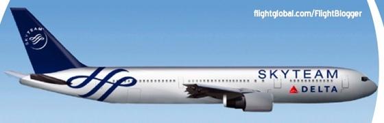 Delta 767 Skyteam