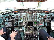 DC9 cockpit