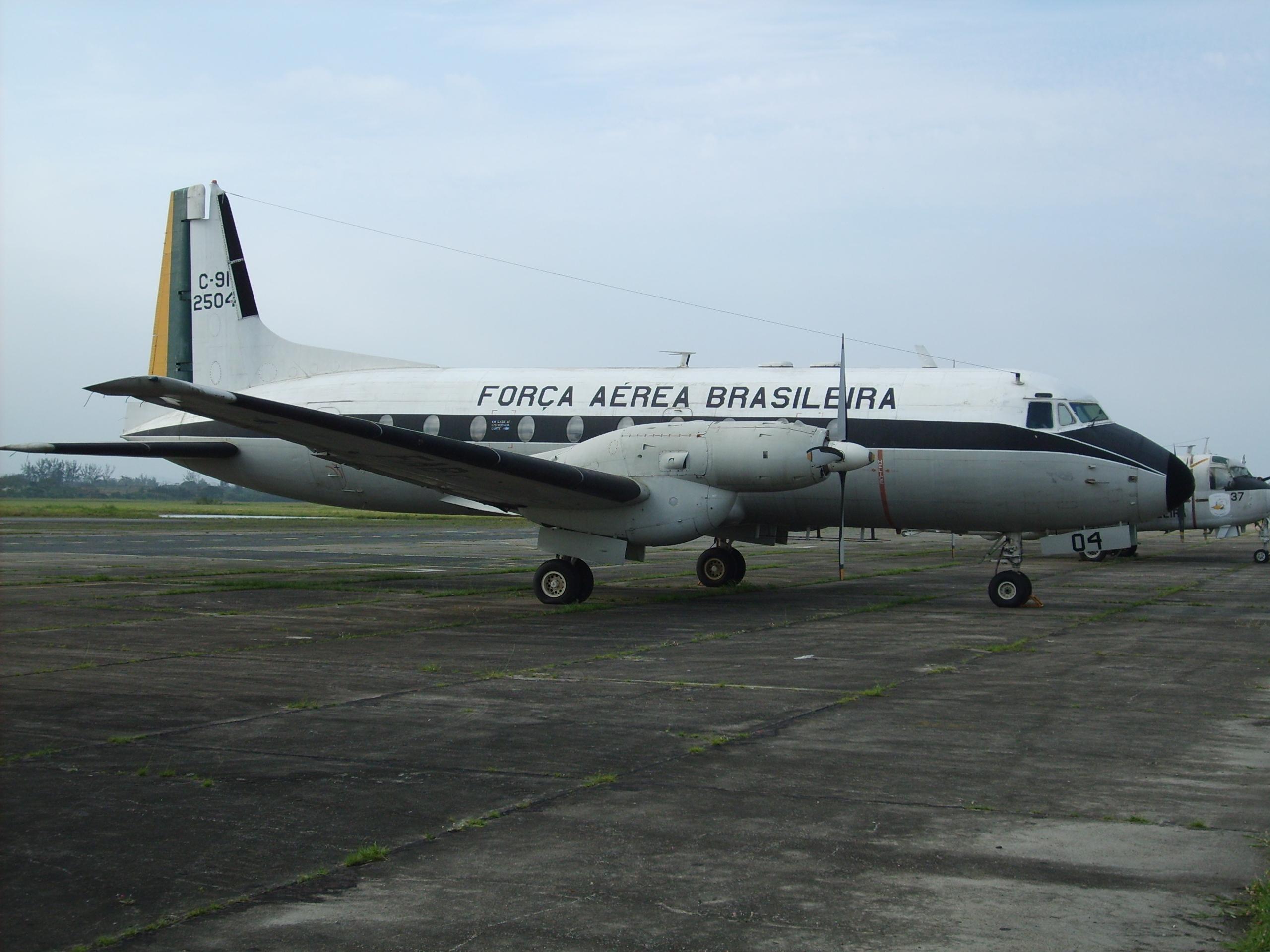 HS 748 Avro, designado na FAB como C-91