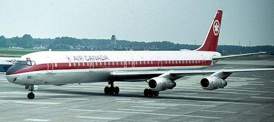 Douglas DC-8 da Air Canada