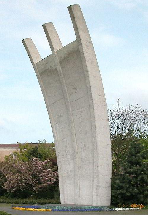Monumento à Ponte Aérea em Berlim