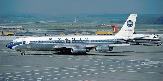 PP-VJK, o 707 da Varig acidentado em 1987 na Costa do Marfim