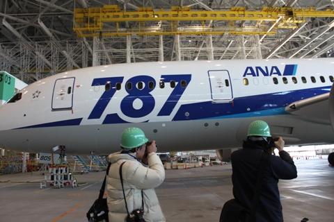 787 da ANA - Beijing