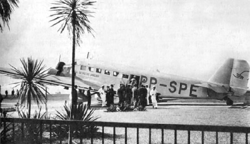 PP-SPE PP-CBR Junkers Ju52/3M da VASP