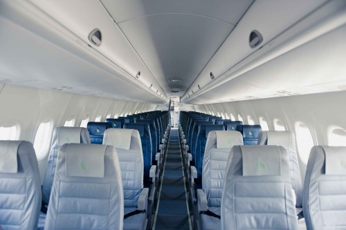 Cabine de Pax Bombardier Q-400