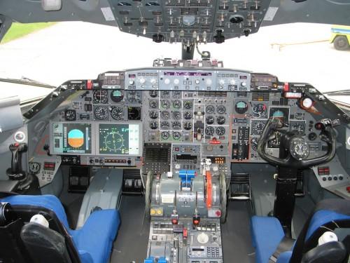 Attas Sidestick - Fokker VFW-614 de testes