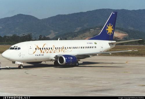 Boeing 737 Nordeste Última Pintura