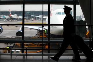 Capitão: Terminal T5, Heathrow