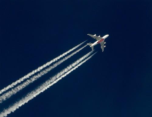A380 Emirates em cruzeiro