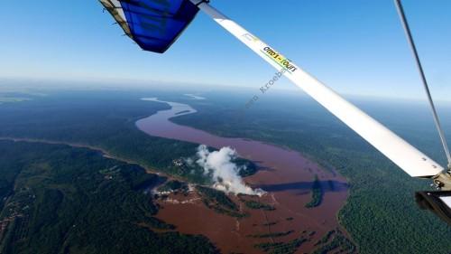 Chegando no Brasil por Foz do Iguaçu